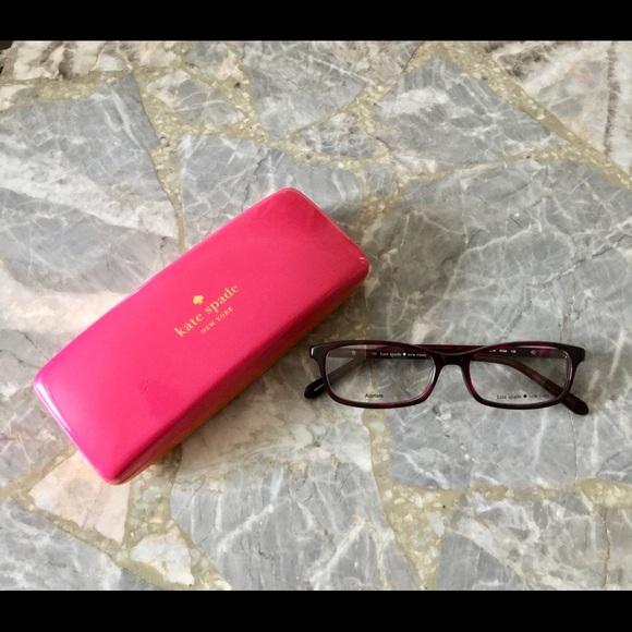 8355603c894 Kate Spade Agneta Eyeglasses-01G4 Pink Havana